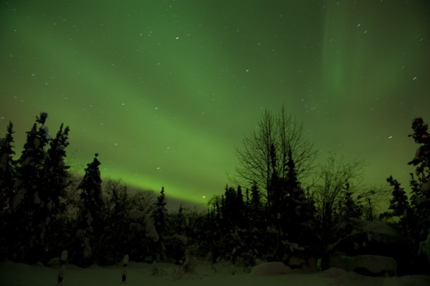 Aurora Borealis at the Arctic Circle