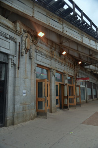 Entry at Wilson Station, Chicago's Red Liine. Photo Courtesy Chicago Detours