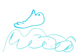 Molly's Dolphin Picture