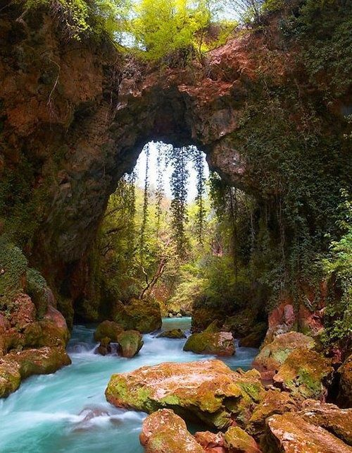 Natural Bridge, Epirus, Greece