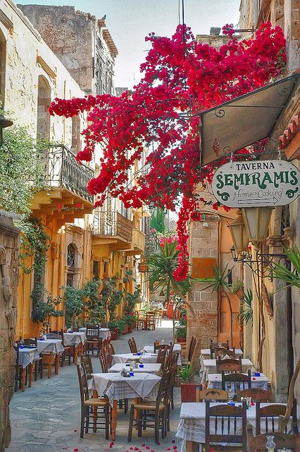 Rethymno, Crete, Greece-  by Quasebart on Flickr